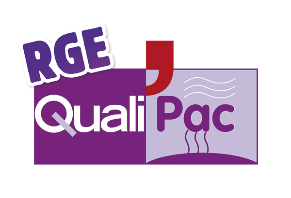 Logo certification RGE Qualipac